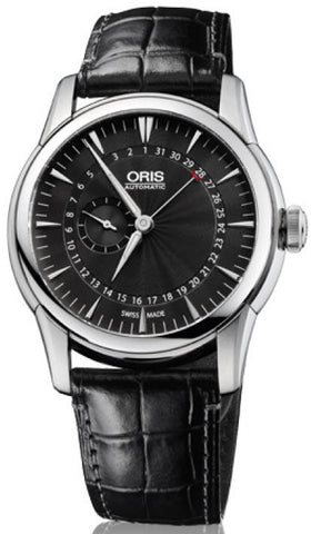 Oris Artelier Pointer Date Small Second Leather
