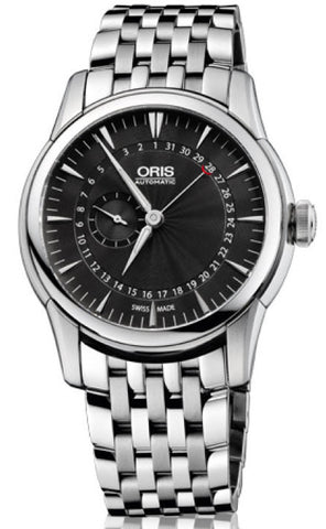 Oris Watch Artelier Pointer Date Small Second Bracelet