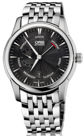 Oris Watch Artelier Pointer Day Date Small Second Bracelet