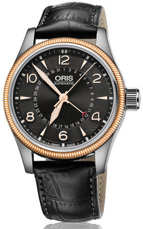 Oris Watch Big Crown Pointer Date Leather D