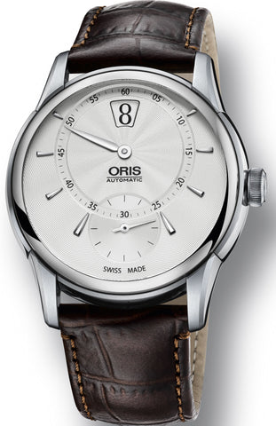 Oris Watch Artelier Jumping Hour Crocodile