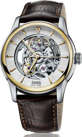 Oris Watch Artelier Skeleton Leather