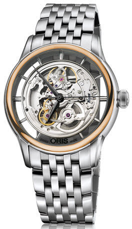 Oris Watch Artelier Translucent Skeleton Bracelet