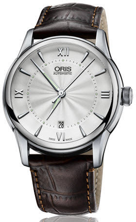 Oris Watch Artelier Date Crocodile