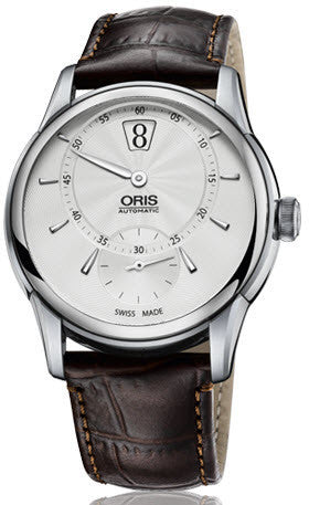 Oris Watch Artelier Jumping Hour Leather