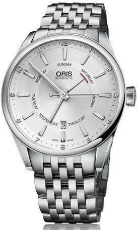 Oris Watch Artix Pointer Day Date Bracelet