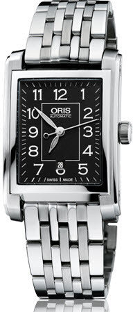 Oris Watch Rectangular Date Bracelet