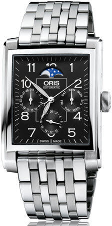 Oris Watch Rectangular Complication Bracelet
