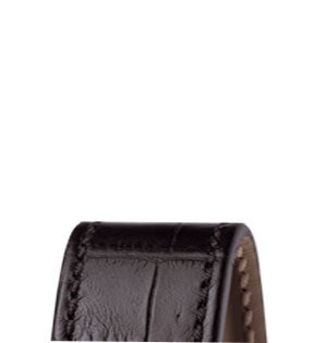 Oris Strap Leather Black With Folding Clasp