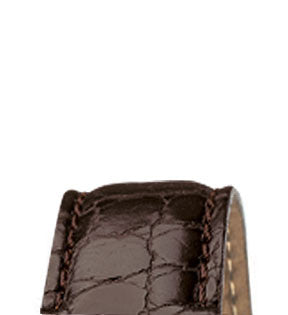 Oris Strap Leather Brown with Folding Clasp