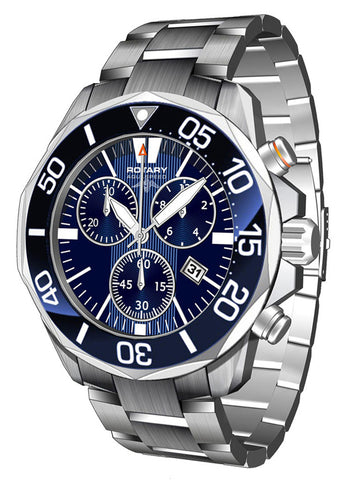 Rotary Watch Aquaspeed Gents Two Tone Bracelet