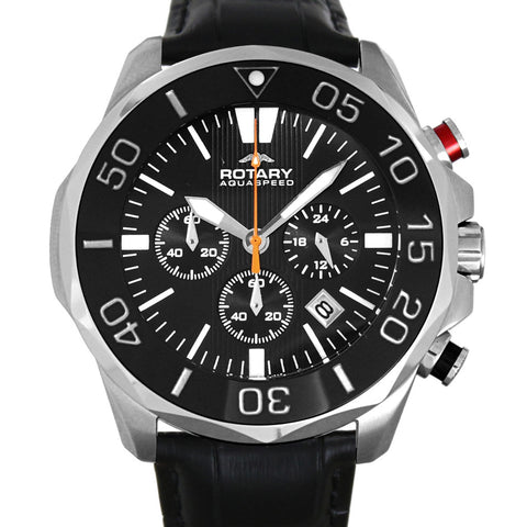 Rotary Watch Aquaspeed Gents Steel Strap