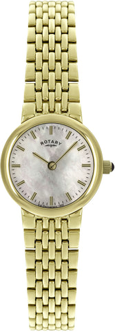 Rotary Watch Ladies PVD Bracelet