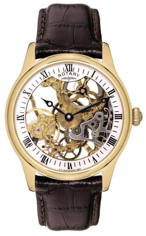 Rotary Watch Gents Gold Plated