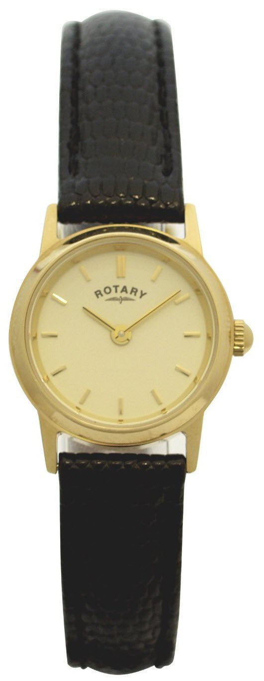 Rotary Watch Ladies Gold Plated
