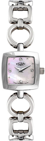 Rotary Watch Ladies White