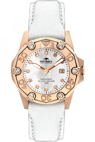 Rotary Watch Aquaspeed Ladies Gold Plated
