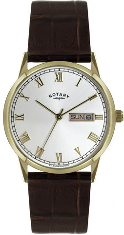 Rotary Watch Gents Leather