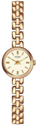 Rotary Ladies Two Tone Bracelet