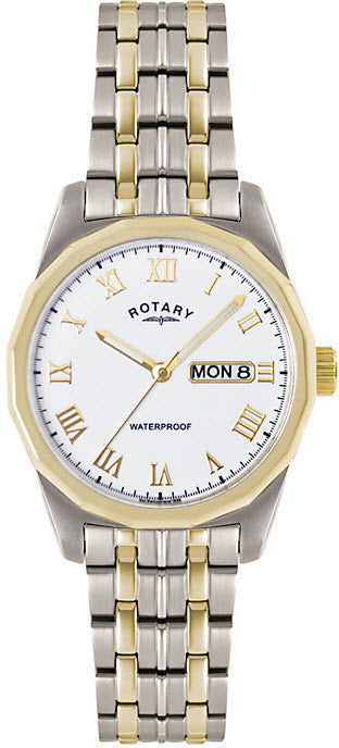 Rotary Watch Gents Two Tone