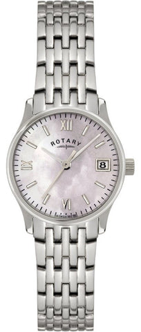 Rotary Watch Ladies Steel