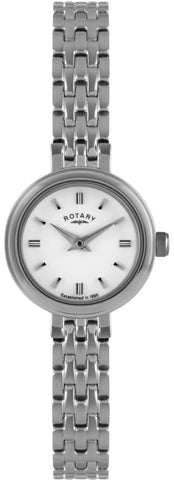 Rotary Watch Ladies Steel S