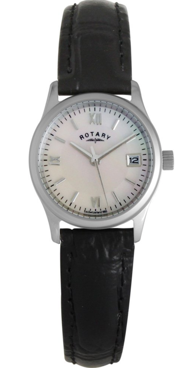 Rotary Watch Ladies Stainless Steel
