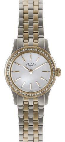 Rotary Watch Ladies Rose Two Tone