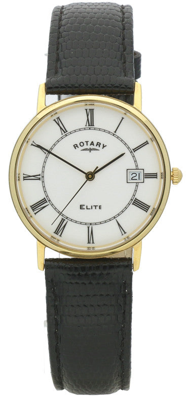 Rotary Watch Elite 18k Gold S