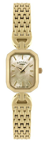 Rotary Watch Ladies Bracelet Gold Plate