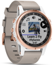 Garmin Watch D2 Delta S Aviator Watch Beige Leather Band
