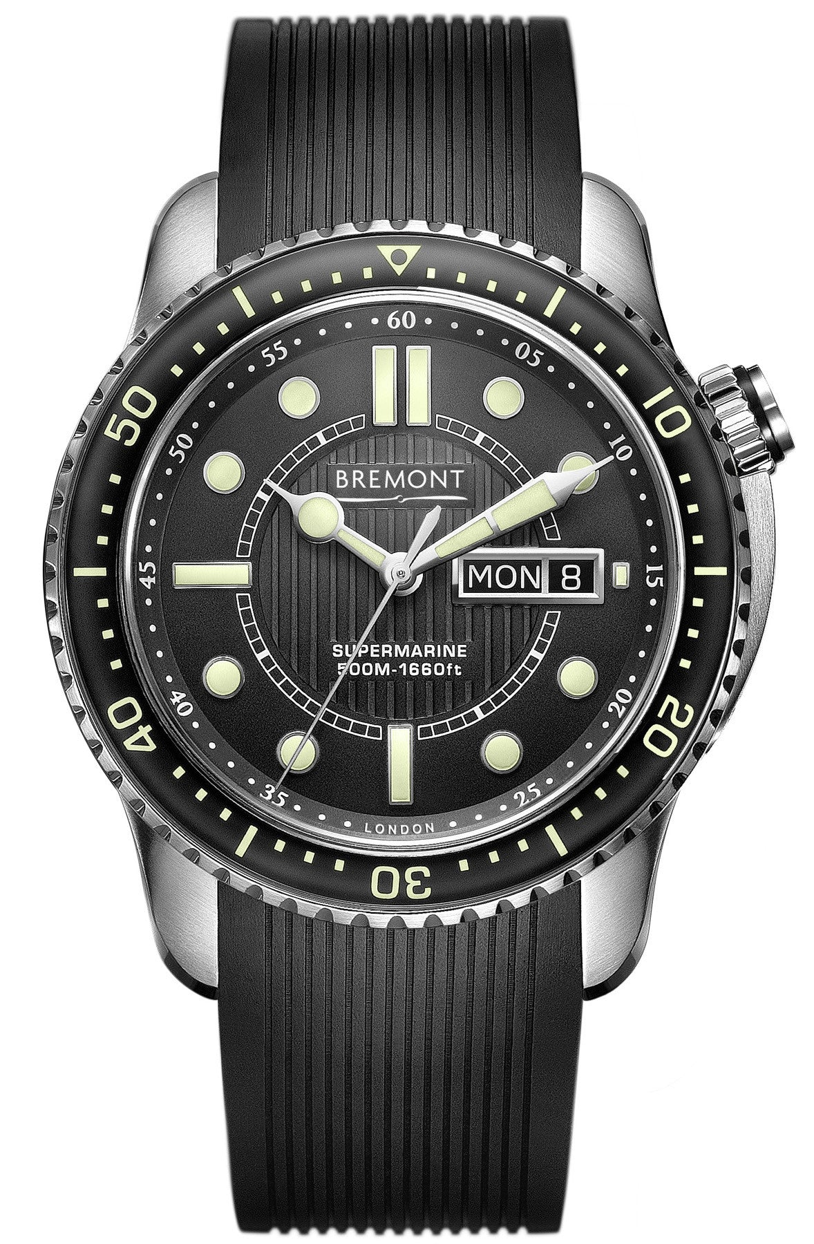 Bremont Watch Supermarine 500 Black