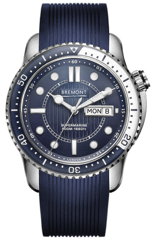 Bremont Watch Supermarine 500 Blue
