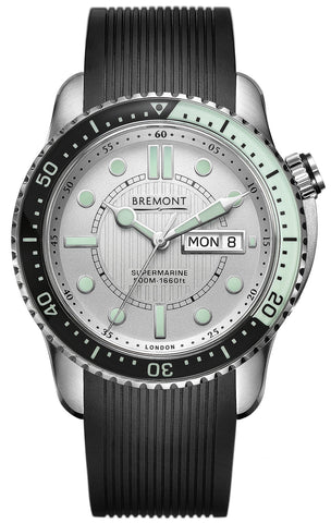 Bremont Watch Supermarine 500 Silver