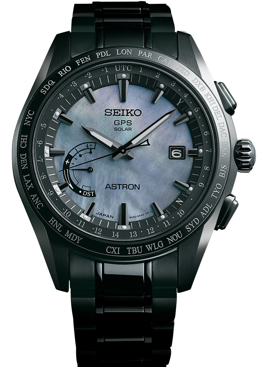 Seiko Astron Watch GPS Solar The Earth At Night Limited Edition