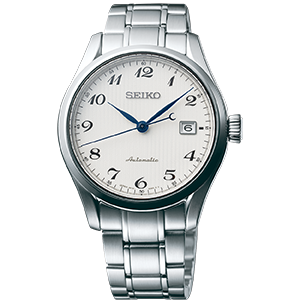 Seiko Watch Presage Three Hand Date