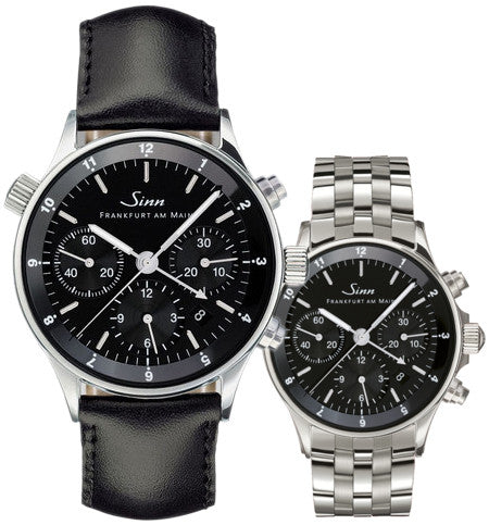 Sinn Watch 6000 Finance Center Bracelet-Leather