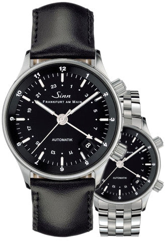 Sinn Watch 6036 Finance Center Bracelet-Leather