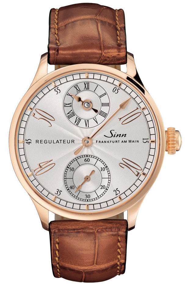 Sinn Watch 6100 Rose Gold Alligator Limited Edition D