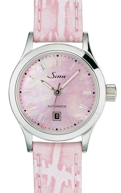 Sinn Ladies Watches 456 R St Perlmutt Alligator D