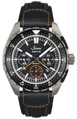 Sinn Watch EZM 10 Testaf Leather