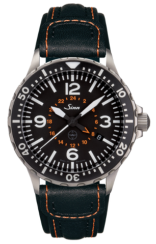 Sinn Watch 857 UTC Testaf Leather