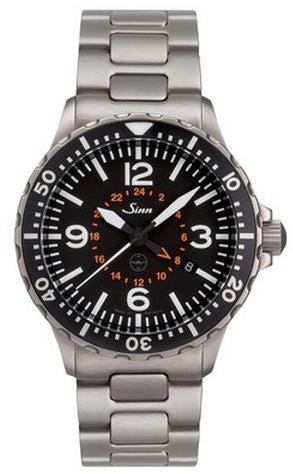 Sinn Watch 857 UTC Testaf Bracelet