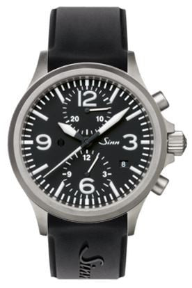 Sinn Watch 756 Silicon With Large Folding Clasp Integrated In Case