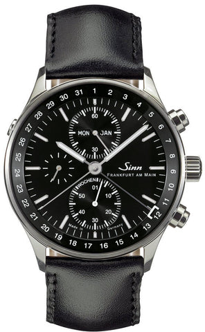 Sinn Watch 6052 Finance District Bracelet-Leather