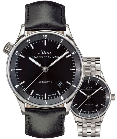Sinn Watch 6068 Frankfurt Financial District Bracelet-Leather