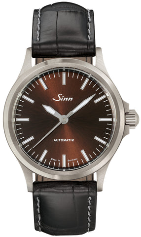 Sinn Watch 556 I M Black Alligator