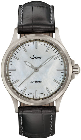 Sinn Watch 556 I Mother Of Pearl W Black Alligator