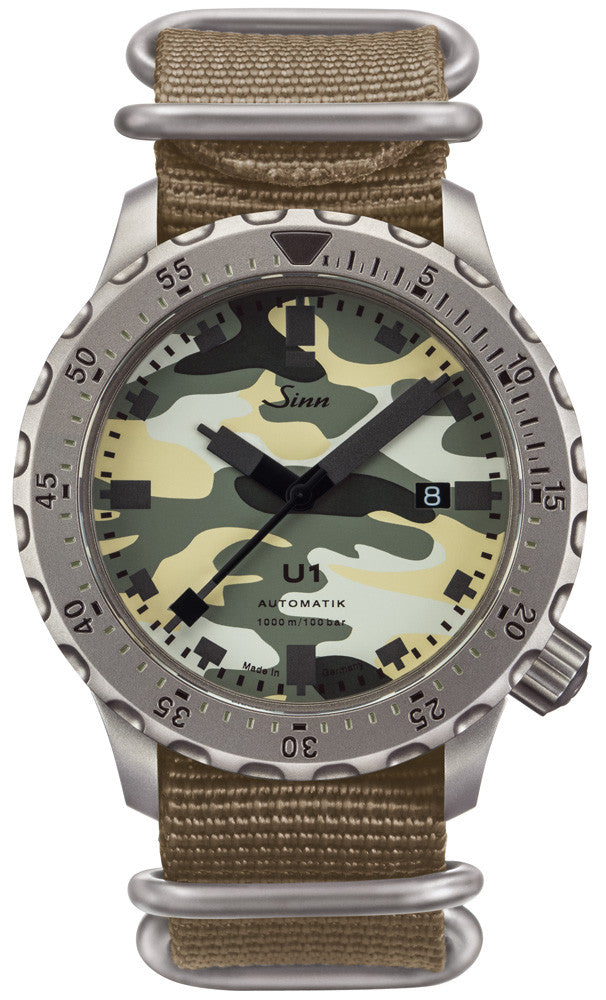 Sinn Watch U1 Camouflage Limited Edition Silicone