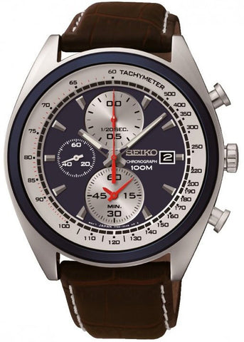 Seiko Watch Solar Chronograph